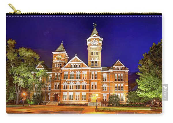 Samford Hall At Night Carry-all Pouch