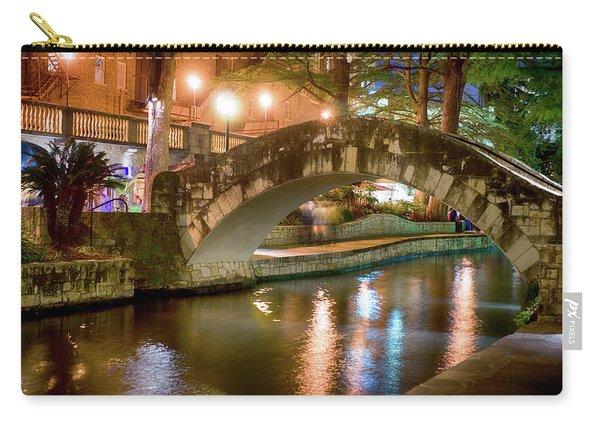San Antonio River Walk V1 Carry-all Pouch