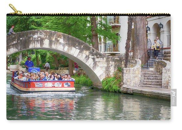 San Antonio River Walk V2 Carry-all Pouch
