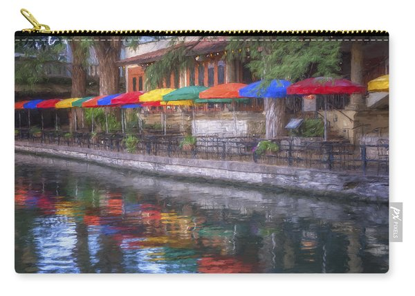 San Antonio Riverwalk Colors Carry-all Pouch