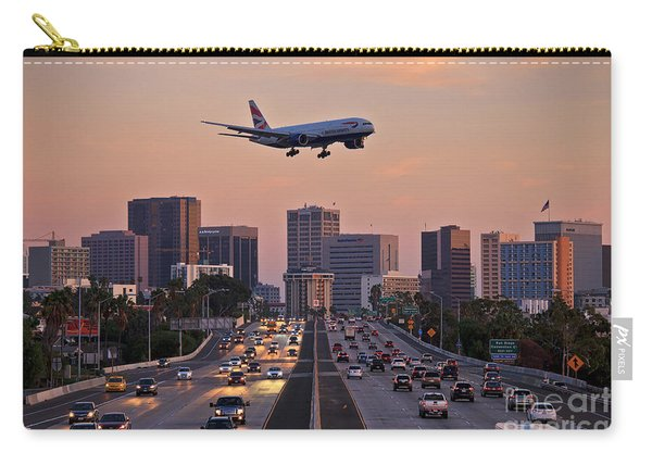 Carry-all Pouch featuring the photograph San Diego Rush Hour  by Sam Antonio Photography