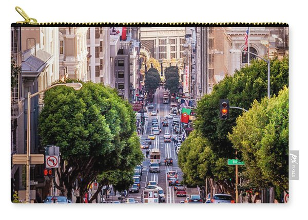 San Fran Cable Car Carry-all Pouch