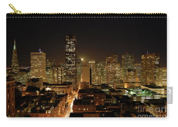 San Francisco At Night Carry-all Pouch