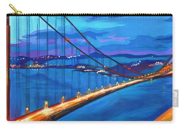 San Francisco Bay Blues  Carry-all Pouch