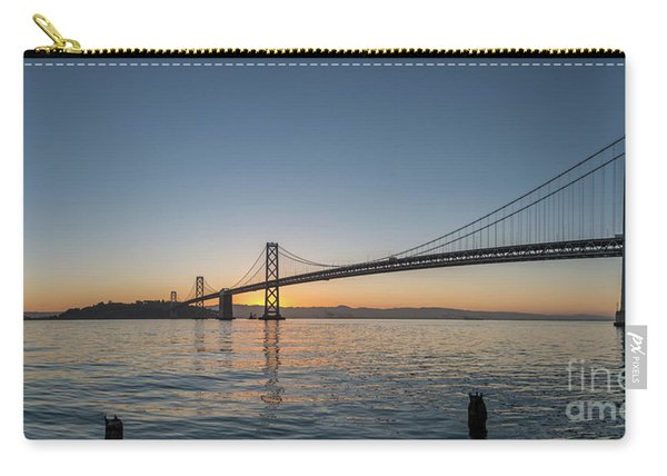 San Francisco Bay Brdige Just Before Sunrise Carry-all Pouch
