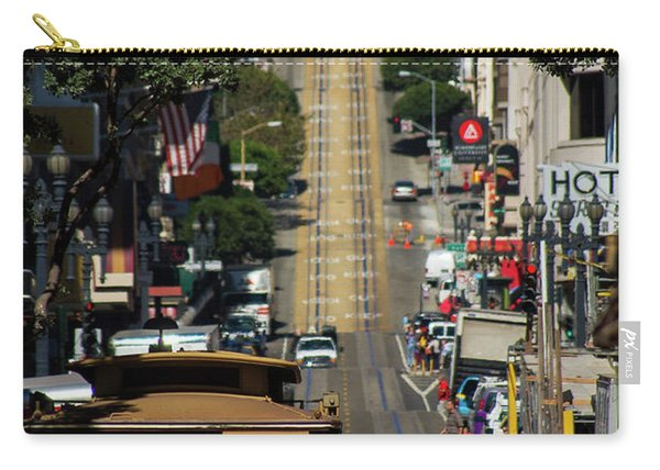 San Francisco Cable Cars Carry-all Pouch