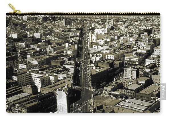 Old San Francisco - Vintage Photo Art Print Carry-all Pouch