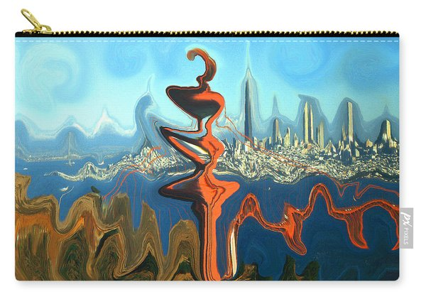San Francisco Earthquake - Modern Artwork Carry-all Pouch