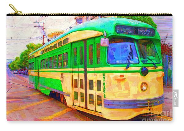 San Francisco F-line Trolley Carry-all Pouch