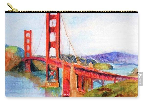 San Francisco Golden Gate Bridge Impressionism Carry-all Pouch