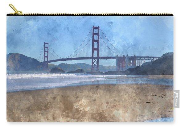 San Francisco Golden Gate Bridge In California Carry-all Pouch