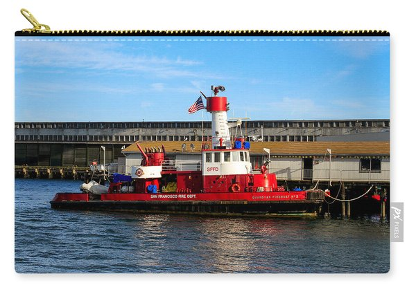 San Francisco Guardian Fireboat No 2 Carry-all Pouch