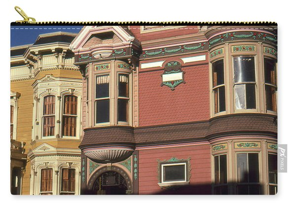 San Francisco Haight Ashbury - Photo Art Carry-all Pouch