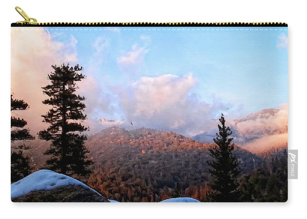San Jacinto Mountains 2 - California Carry-all Pouch