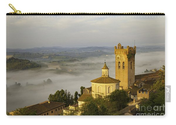 Carry-all Pouch featuring the photograph San Miniato by Brian Jannsen
