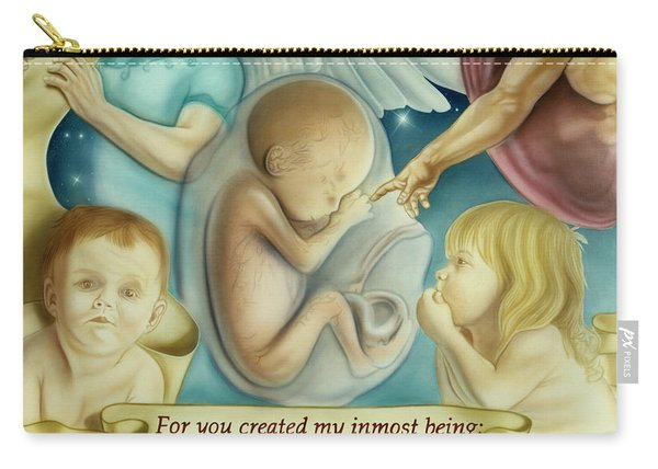 Sanctity Of Life Carry-all Pouch