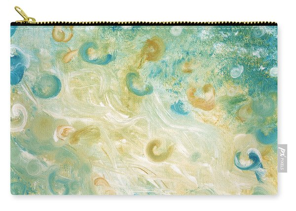 Sand And Surf Painting Carry-all Pouch