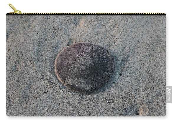 Carry-all Pouch featuring the photograph Sand Dollar  by Christy Pooschke