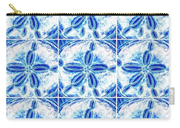Sand Dollar Delight Pattern 3 Carry-all Pouch