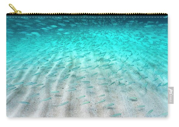 Sand Ripple Fish Carry-all Pouch
