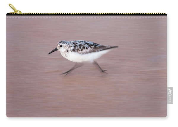 Sanderling On The Run Carry-all Pouch