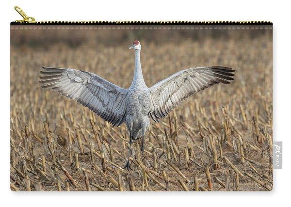 Sandhill Crane 2017-5 Carry-all Pouch