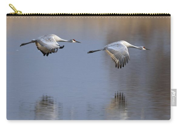 Sandhill Crane Returning Carry-all Pouch