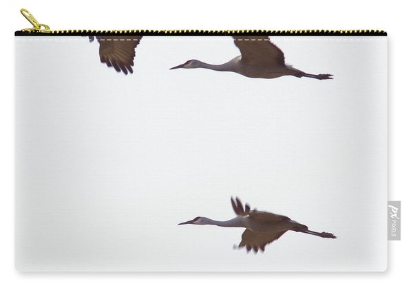 Sandhills In Flight Carry-all Pouch