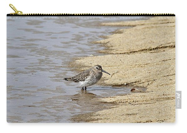 Sandpiper At The Shore Carry-all Pouch