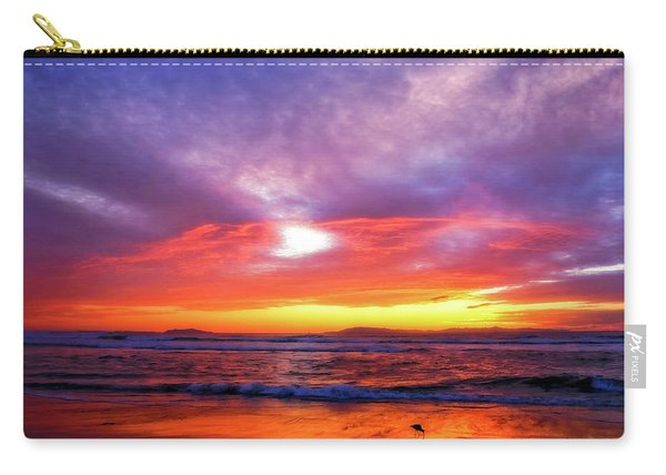 Sandpiper Sunset Ventura California Carry-all Pouch