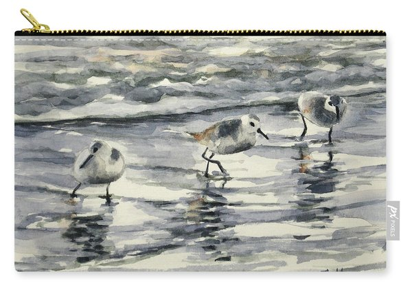 Sandpipers 3  12-11-17 Carry-all Pouch