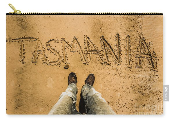 Sands Of Tasmania Carry-all Pouch