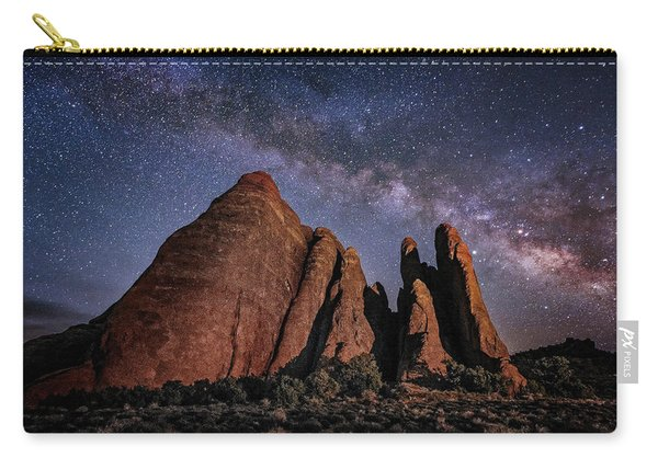 Sandstone And Milky Way Carry-all Pouch