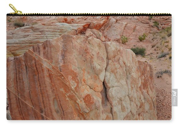 Sandstone Shield In Valley Of Fire Carry-all Pouch