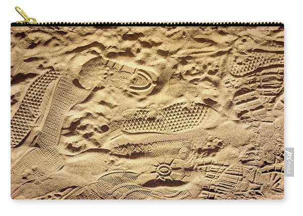 Sandy Footprints Carry-all Pouch
