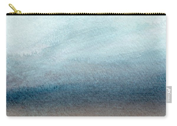 Sandy Shore- Art By Linda Woods Carry-all Pouch