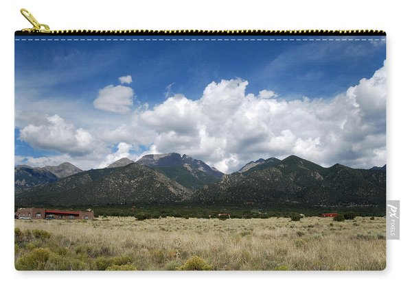 Carry-all Pouch featuring the photograph Sangre De Cristo Mountains 1 by Joseph R Luciano