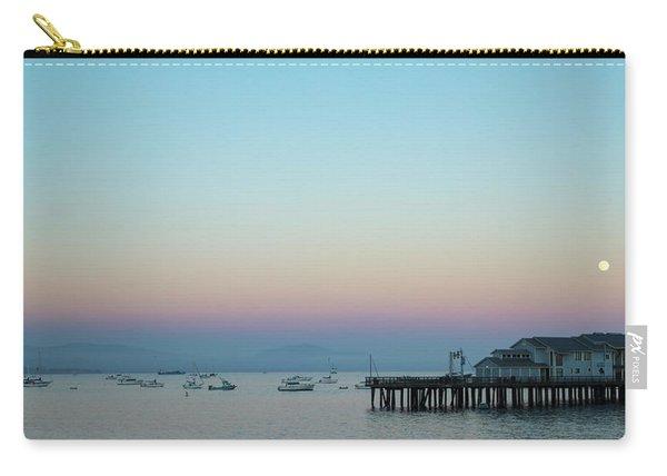 Santa Barbara Pier At Dusk Carry-all Pouch