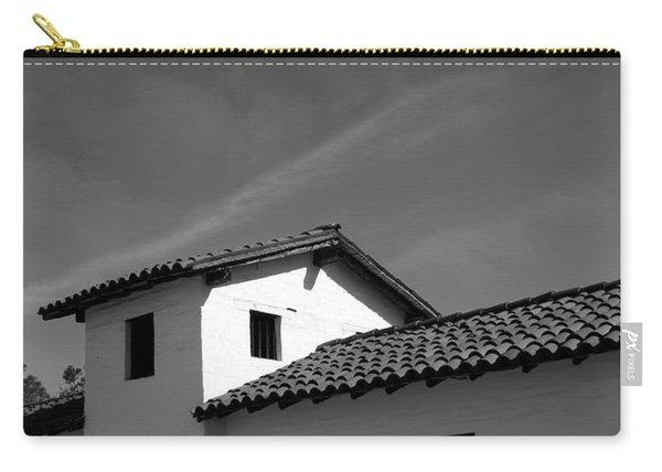 Santa Barbara Presidio 2- Photograph By Linda Woods Carry-all Pouch