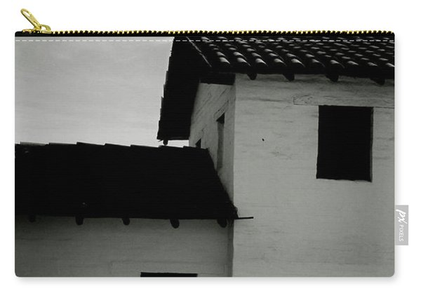 Santa Barbara Presidio 3- Art By Linda Woods Carry-all Pouch
