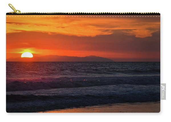 Santa Catalina Island Sunset Carry-all Pouch