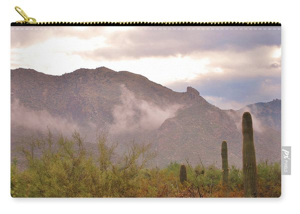 Santa Catalina Mountains II Carry-all Pouch