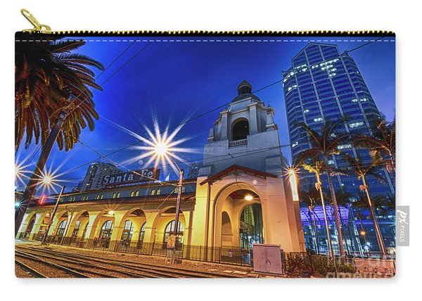 Santa Fe At Night Carry-all Pouch