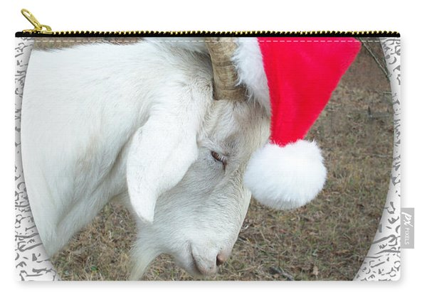 Santa Goat Carry-all Pouch