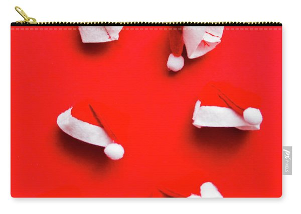 Santa Hat Party Carry-all Pouch
