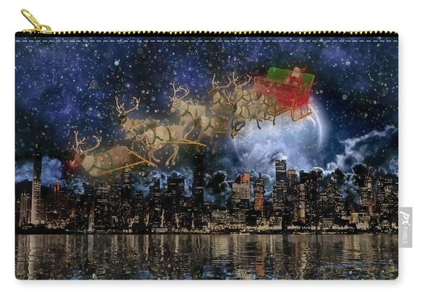 Santa In The City Carry-all Pouch