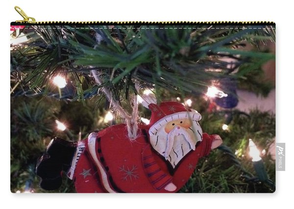 Santa Is Almost Here Carry-all Pouch