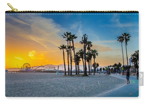 Santa Monica Sunset Carry-all Pouch