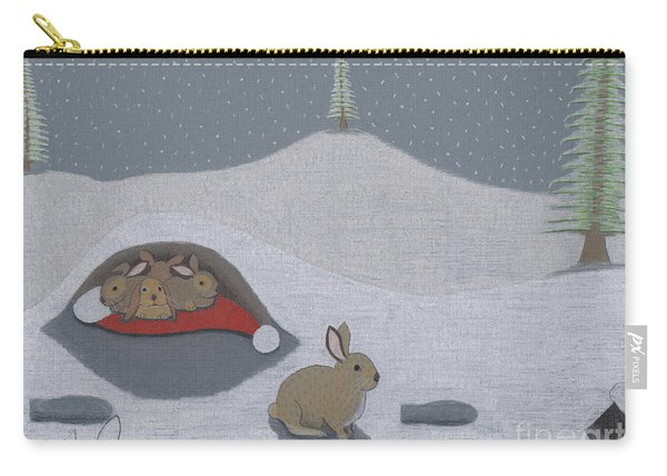 Santa's Ultimate Gift Carry-all Pouch