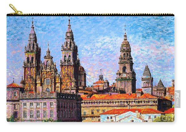 Santiago De Compostela, Cathedral, Spain Carry-all Pouch